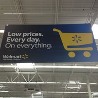 Photo taken at Walmart Supercenter by wendy w. on 12/27/2012
