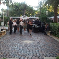 Photo taken at Renaissance Vinoy - Terrace by william s. on 11/21/2012