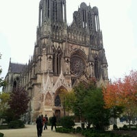 Photo taken at Reims by Magali R. on 10/20/2012