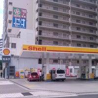 Photo taken at 昭和シェル石油 下寺町SS/株式会社三徳リテールシステム by Hirotake M. on 7/1/2013