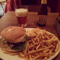 Photo taken at The Burger Joint by Thomas B. on 10/15/2014