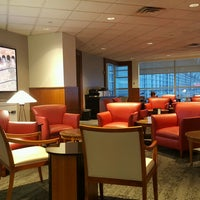 Photo taken at Delta Sky Club by Bob E. on 10/1/2016