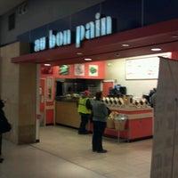 Photo taken at Au Bon Pain by Bob E. on 1/28/2013