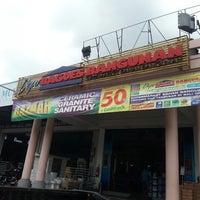 Photo taken at Depo Bagus Bangunan by Gra D. on 4/11/2013