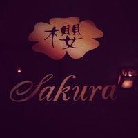 Photo taken at Sakura by Chris W. on 12/13/2012