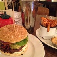 Photo taken at Gourmet Burger Kitchen by kaeun y. on 8/29/2013