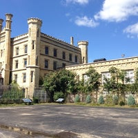 Photo taken at Old Joliet Prison by Julia N. on 9/16/2014