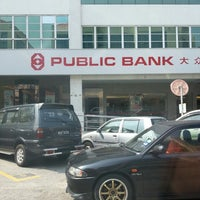 Photo taken at Public Bank by Puchongmens on 2/26/2014