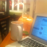 Photo taken at Blenz Coffee by Andreas L. on 3/9/2013