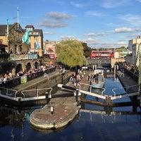 Photo taken at Camden Lock Village by Nicolo R. on 10/6/2012