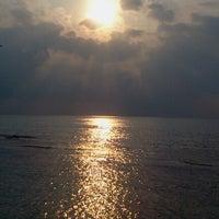 Photo taken at Gazzebo Pinggir Laut by firmana A. on 9/22/2012