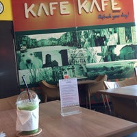 Photo taken at KAFE KAFE Coffee by Papada T. on 5/12/2014