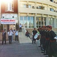 Photo taken at Kahta Ogretmenevi Ve Aksam Sanat Okulu by Ceren Y. on 9/12/2013