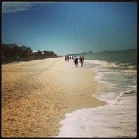 Photo taken at Bonita Beach by Tineall on 3/20/2013