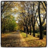 Photo taken at Park Śląski by Adam G. on 10/12/2013