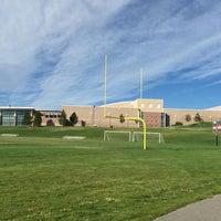 Photo taken at Cherokee Trail High School by Daniel P. on 9/6/2015