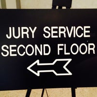 Photo taken at Jury Duty Assembly Room by Theo S. on 2/27/2014