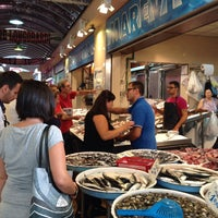 Photo taken at Mercato Di Fuorigrotta by Massi I. on 9/6/2014