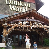 Photo taken at Bass Pro Shops Outdoor World by Jill K. on 6/19/2013