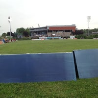 Photo taken at Skyline Sports Complex on City Island by Corinne M. on 6/18/2013
