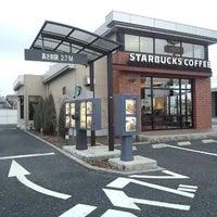 Photo taken at Starbucks Coffee 草津国道1号店 by かわたく on 2/21/2014