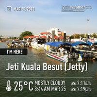 Photo taken at Jeti Kuala Besut (Jetty) by Mohammad S. on 3/25/2013