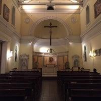 Photo taken at Iglesia de la Veracruz by Gonzalo O. on 4/3/2015