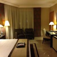 Photo taken at Fairmont Dubai by Alfred I. on 5/27/2013
