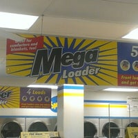 Photo taken at Spin Cycle Coin Laundry by Spam on 12/17/2012