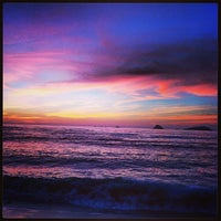 Photo taken at Playa El Silencio by Alexandra V. on 2/5/2013