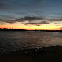 Photo taken at Evansville Riverfront by Aaron K. on 9/4/2013
