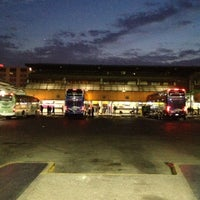 Photo taken at Terminal de Buses Santiago by Elizabeth A. on 9/29/2012