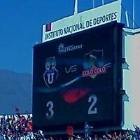 Photo taken at Estadio Nacional Julio Martínez Prádanos by Cristian A. on 5/5/2013