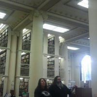 Photo taken at Mechanics' Institute by Mikl M. on 1/19/2013