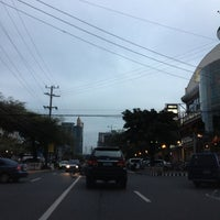Photo taken at Tomas Morato Avenue by Mark N. on 8/4/2013