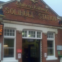 Photo taken at Solihull Railway Station (SOL) by Anuj K. on 4/13/2013