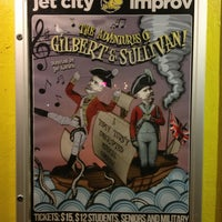 Photo taken at Jet City Improv by Nate C. on 3/8/2013