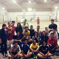 Photo taken at Arena Futsal by Malikul A. on 1/25/2014