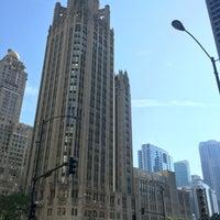 Photo taken at Tribune Tower by Rob N. on 6/24/2016