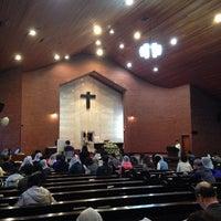 Photo taken at Jungang-dong Catholic Church by Seungyeon H. on 4/27/2014
