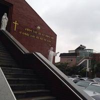 Photo taken at Jungang-dong Catholic Church by Seungyeon H. on 9/29/2013