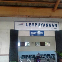 Photo taken at Stasiun Lempuyangan by Apri Y. on 5/14/2013