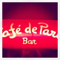 Photo taken at Café de París by Fotoseando on 9/29/2012