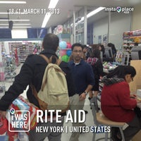 Photo taken at Rite Aid by Martin M. on 3/11/2013