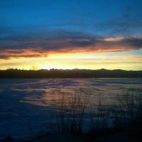 Photo taken at Sloan's Lake Park by Tone on 1/9/2013
