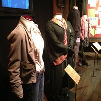 Photo taken at Harry Potter: The Exhibition by Erica M. on 3/30/2013