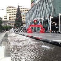 Photo taken at CentralWorld by Somyot K. on 11/9/2013