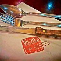 Photo taken at Bigby's Café & Restaurant by Manz A. on 10/6/2012