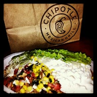 Photo taken at Chipotle Mexican Grill by Elaine M. on 10/5/2012