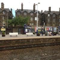 Photo taken at Harrogate Railway Station (HGT) by Stu M. on 7/28/2013